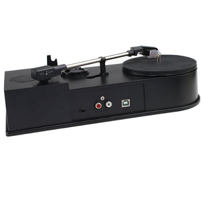 BR612, Mini USB Turntable Built in Speaker Vinyl Record to MP3 CD Converter Supports Windows XP/Vista/7/Mac