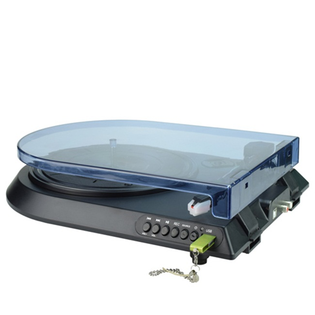 DIGITNOW! Digital Conversion Turntable with Built-In USB Recording & Player