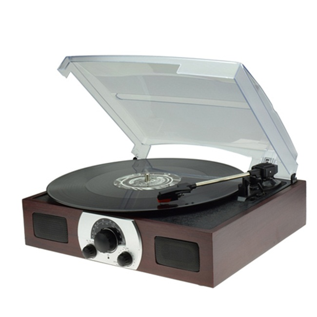 Digitnow Turntable with QUICK PLAY LP, just one cable gets the job done as you turn your record collection into MP3s.