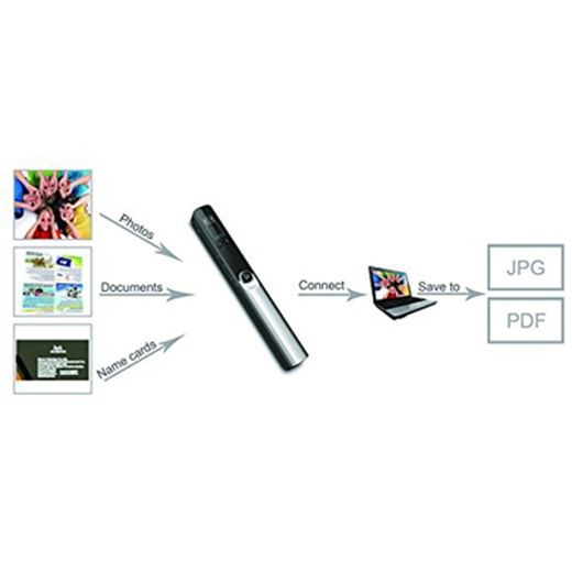 Digitnow Handheld Scanner - Scan photos, documents, books, and more