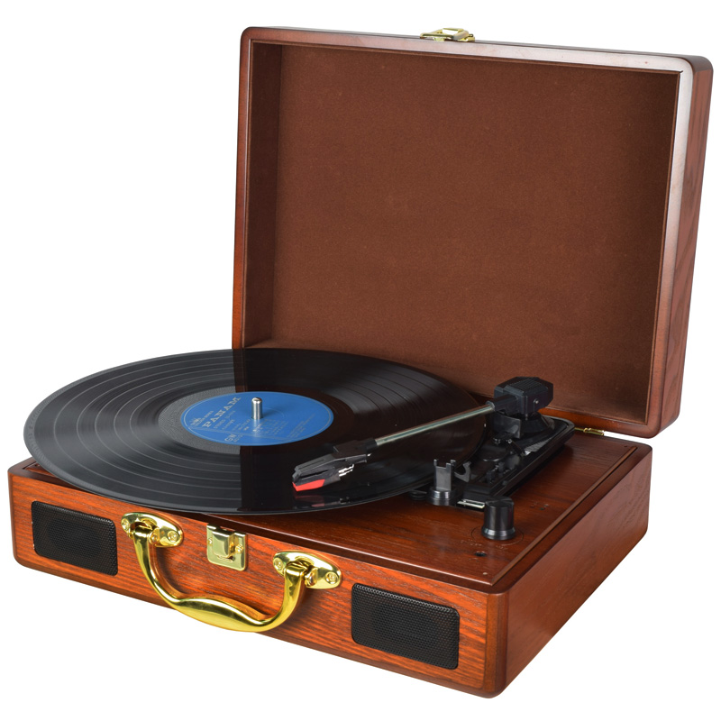 Digitnow! 3-Speed Vintage Suitcase Turntable,suitcase turntable