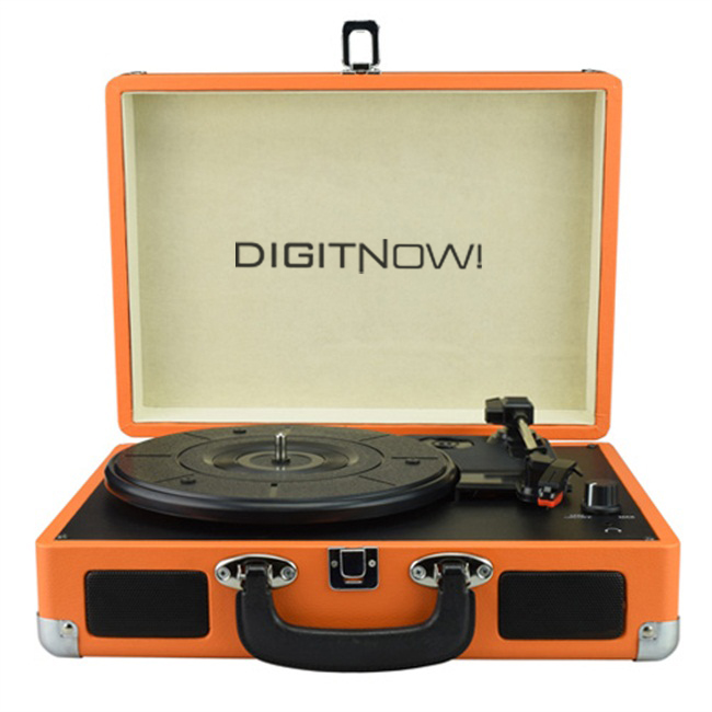 Digitnow Suitcase Turntable Player