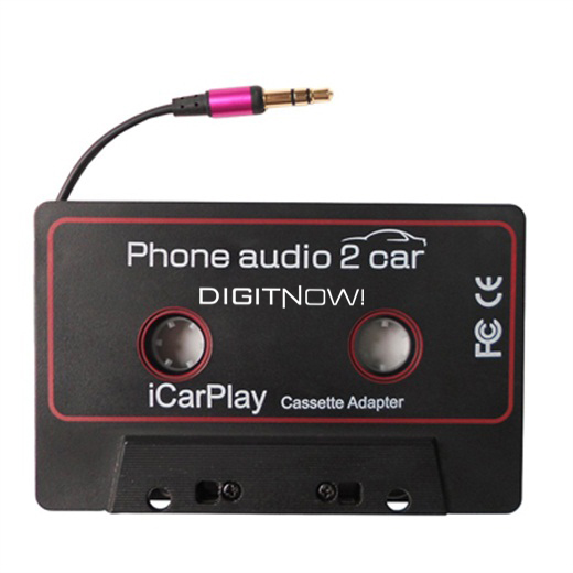 WeRecord iCar play Cassette Tape Adapter, phone audio 2 car