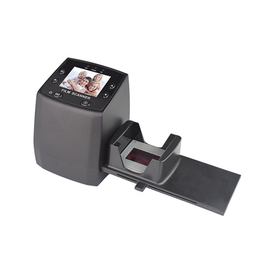 DIGITNOW High resolution film scanner convert 35/135mmNegative&Slide to Digital JPEGs and saved to SD card, Using Built-In Software Interpolation with 1800DPI High Resolution-5/10M Photo&Film Scanner
