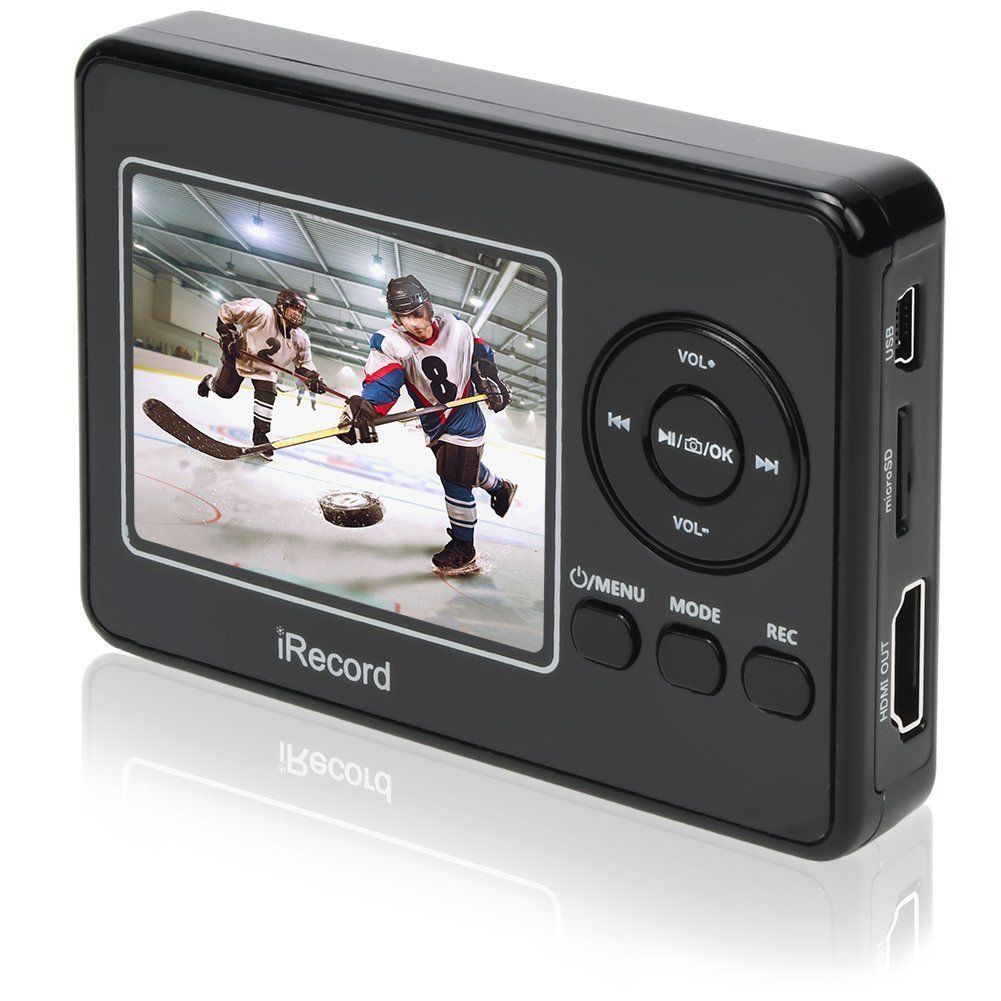 BR132 DIGITNOW Video to Digital Converter , Standalone Media AV Recorder and Player with Microphone LCD Display,Capture & Record Analog Videos to DVD and TF Card