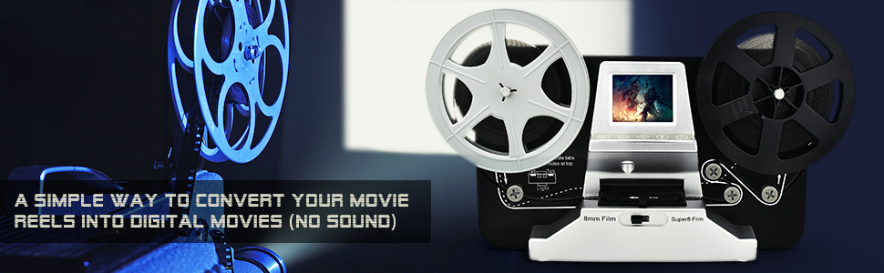 convert your movie reels